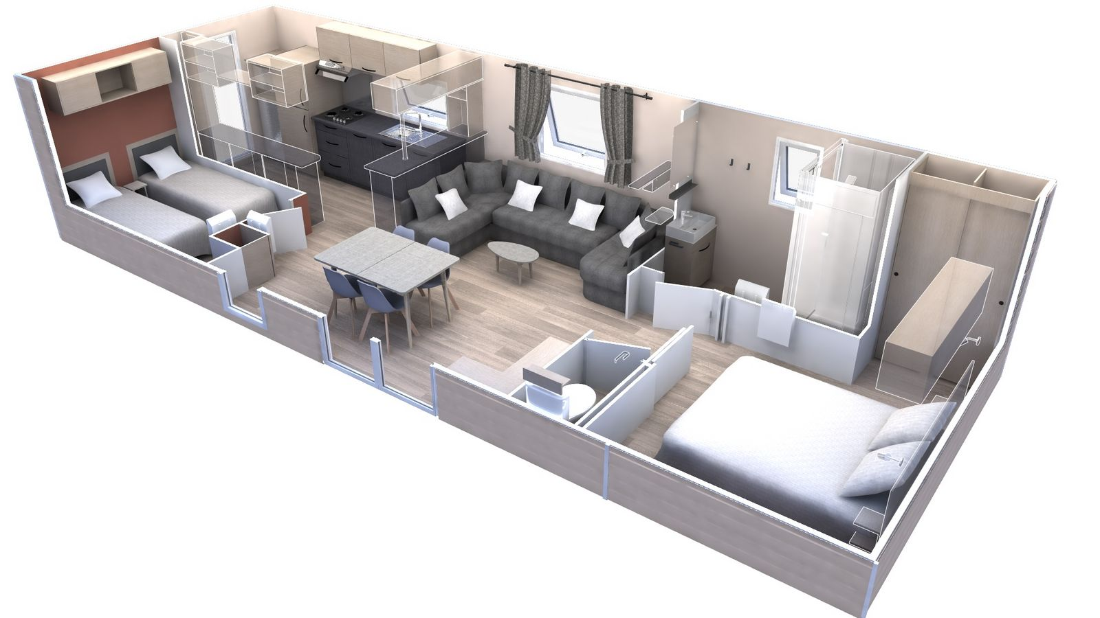 residences trigano-expression-2chambres-plan-3D