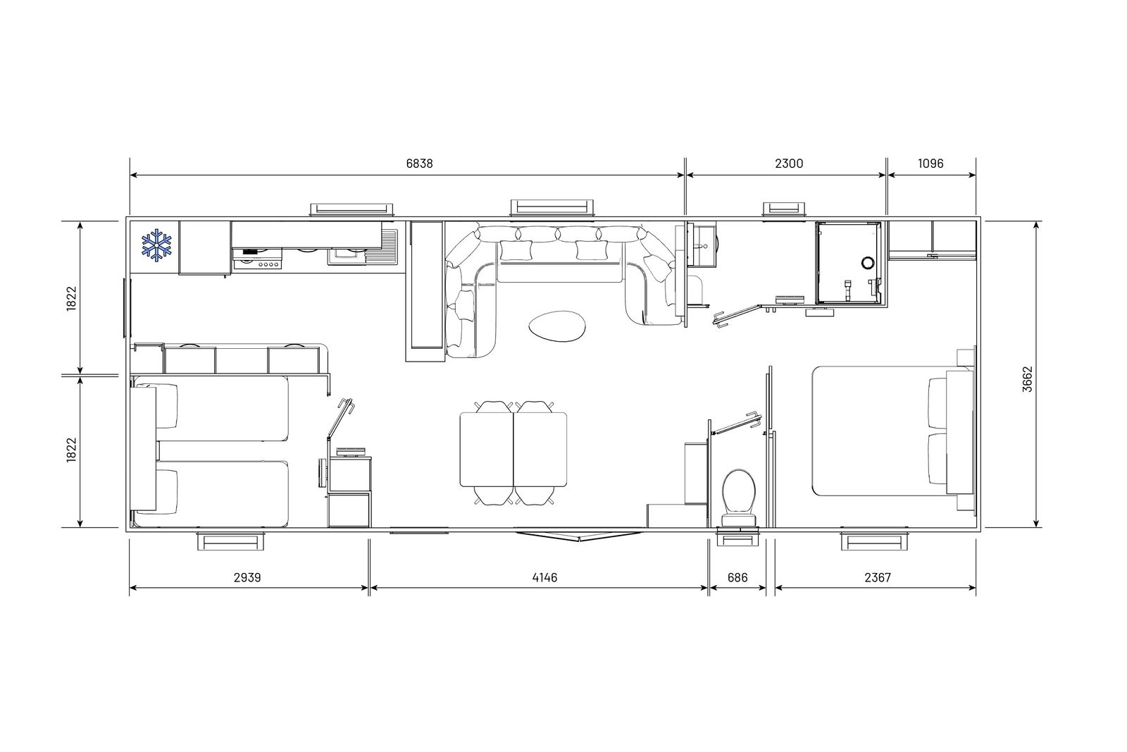 residences trigano-expression-2chambres-plan-2D